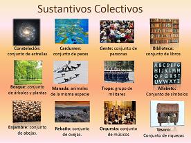 Sustantivos colectivos en el idioma español