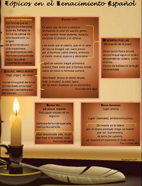 Tópicos literarios del renacimiento