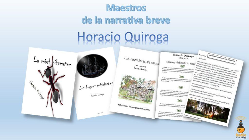 Horacio Quiroga Material didáctico